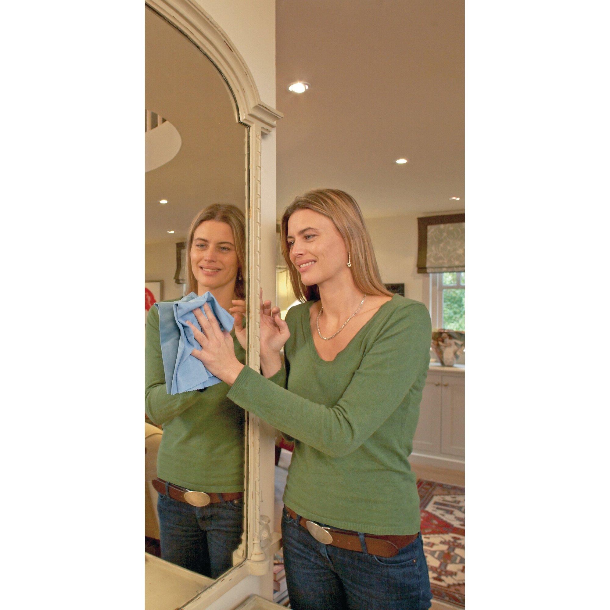 Glass & Polishing Cloth - Brilliant for Sparkling Windows, Mirrors, Glassware, Chrome, and More by E-Cloth (Image #20)