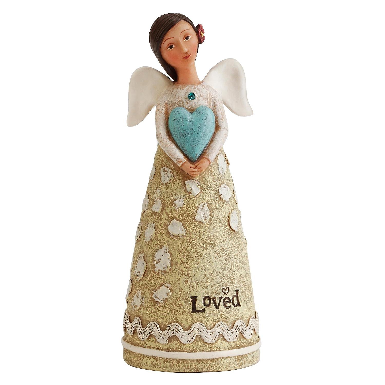 DEMFU December Birthday Wish Angel Figurine