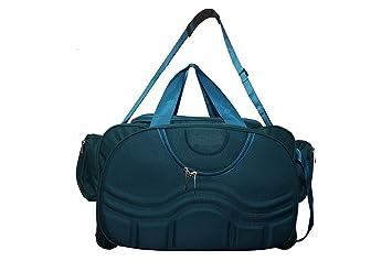 a5e6c80d89f9 La Polo Green 2 Wheeler Travel Duffel Bag  Amazon.in  Bags