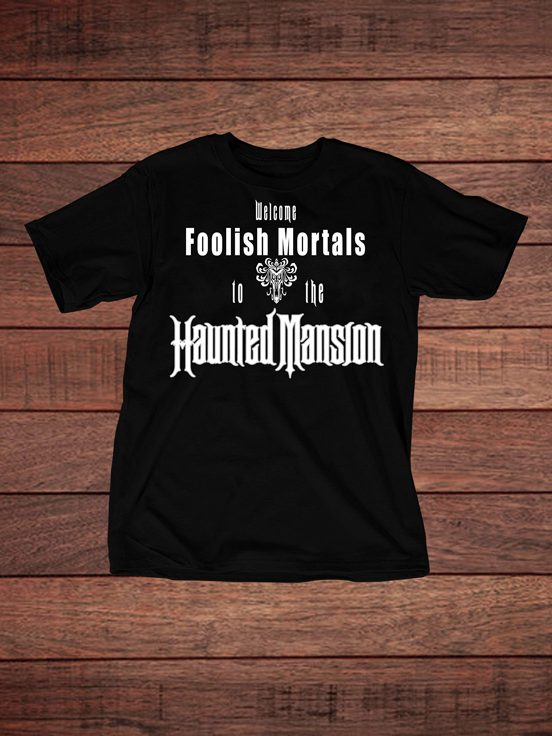 Disney Haunted Mansion Inspired Adult T-Shirt by The Disney Nation