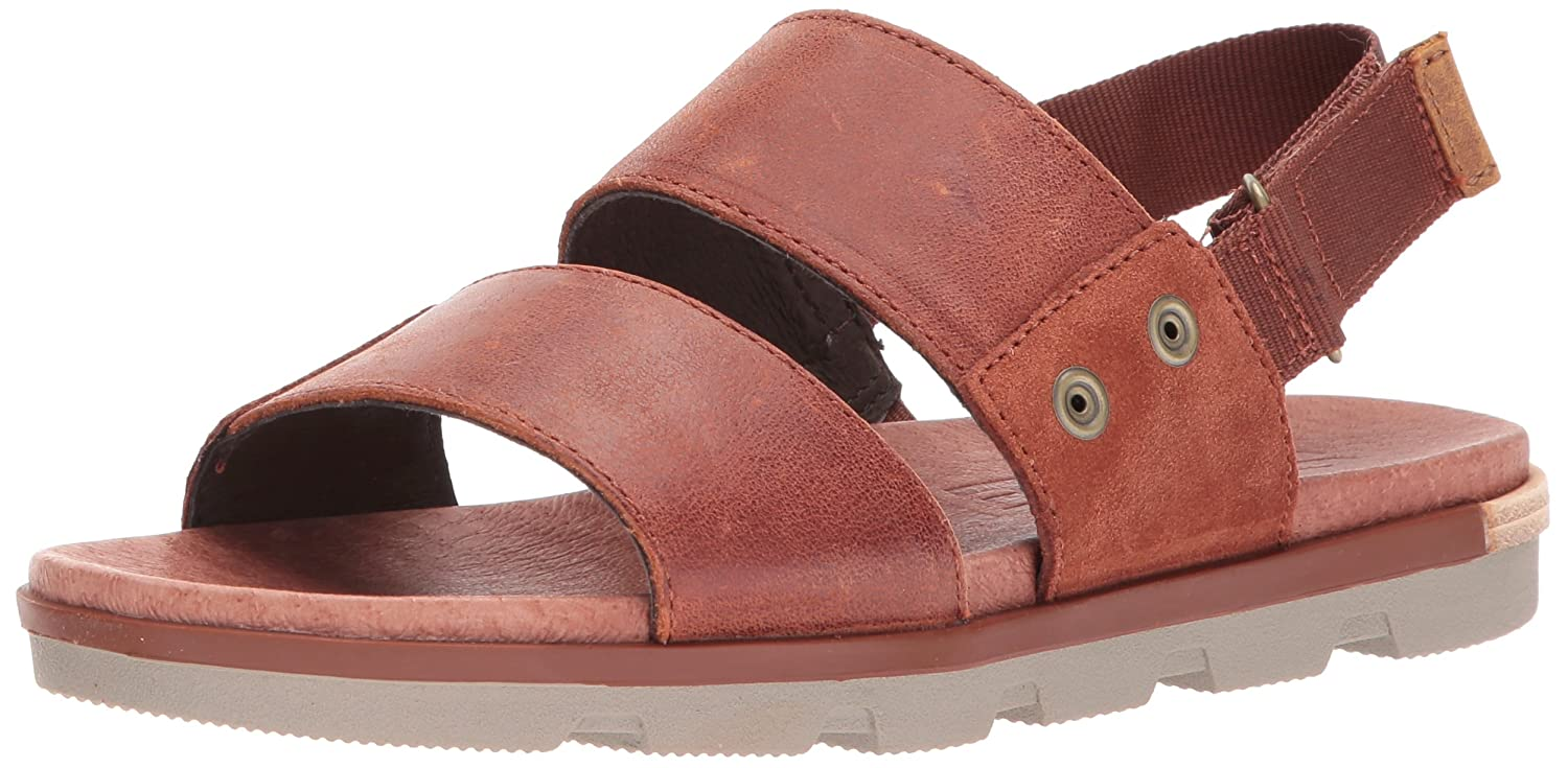 bd099913ee95 Amazon.com  Sorel Women s Torpeda Flat Sandal  Shoes