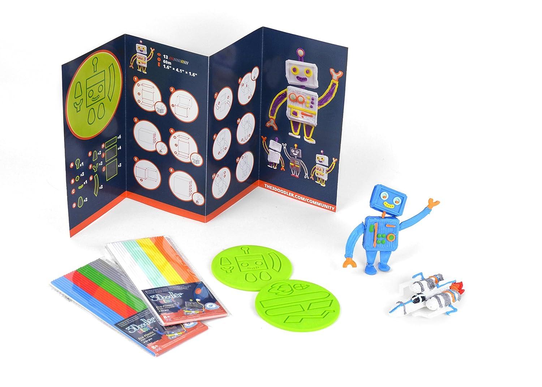 3Doodler Start Rocket y Robot Doodle bloque Kit