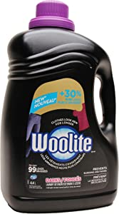 Woolite Darks Liquid Laundry Detergent, HE Compatible, Midnight Breeze Scent - 148 Fl Oz / 4.4 L - 99 Loads