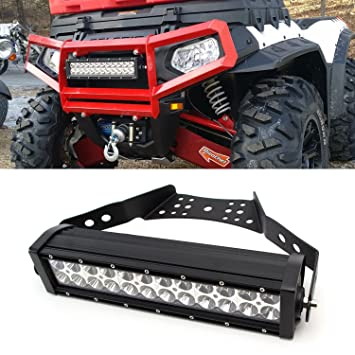 Ijdmtoy 14 72w high power led light bar w universal handlebar ijdmtoy 14quot 72w high power led light bar w universal handlebar front grill aloadofball Image collections