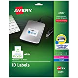 Avery Permanent ID Labels for Laser and Inkjet