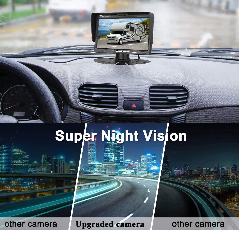 Nissan NV400 Renault Master III 2010-2019 5.0 Inch LCD Monitor Kits for OPEL Movano B HD 3rd Brake Light Backup Camera Aftermarket Rear Reversing Camera