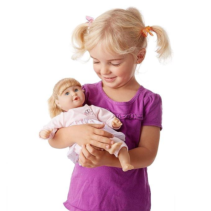 Amazon.com: Bebé muñeca con pelo y ropa ...