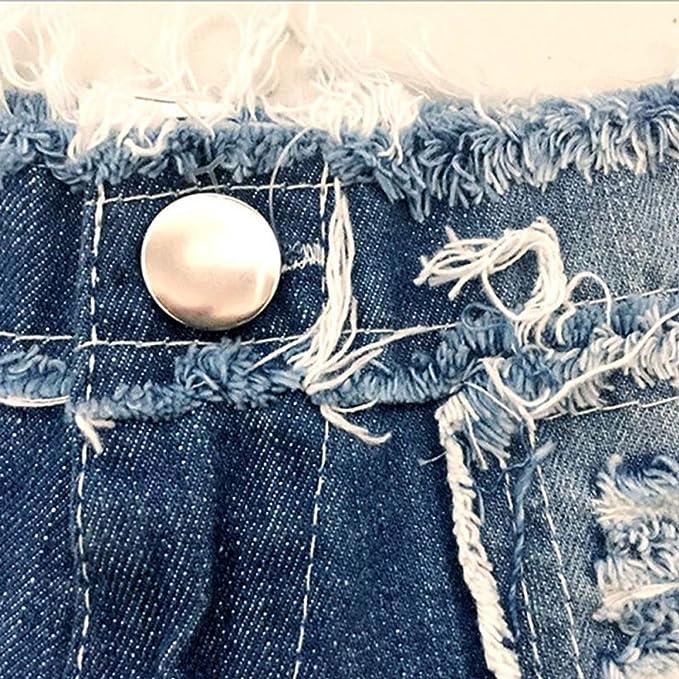 Amazon.com: Sexy - Pantalones cortos de cristal para mujer ...