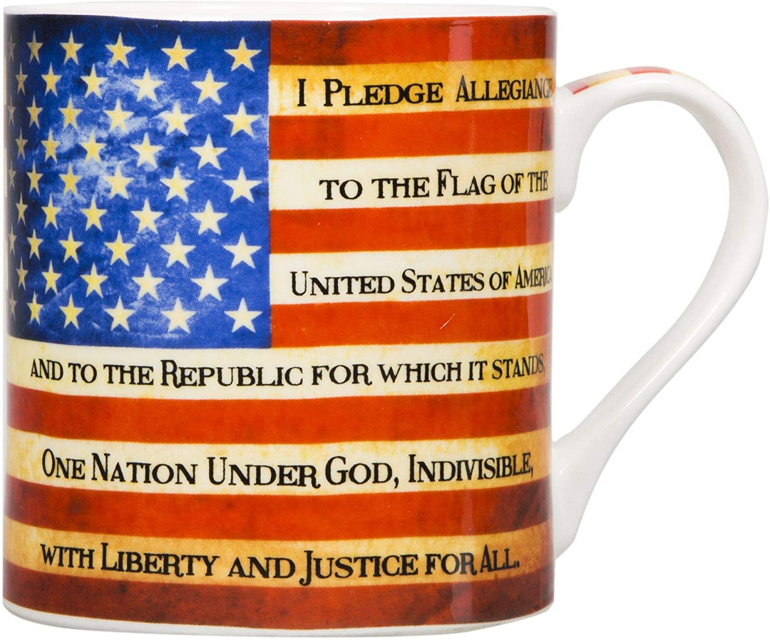 Home Essentials Pledge Allegiance Mug One Size