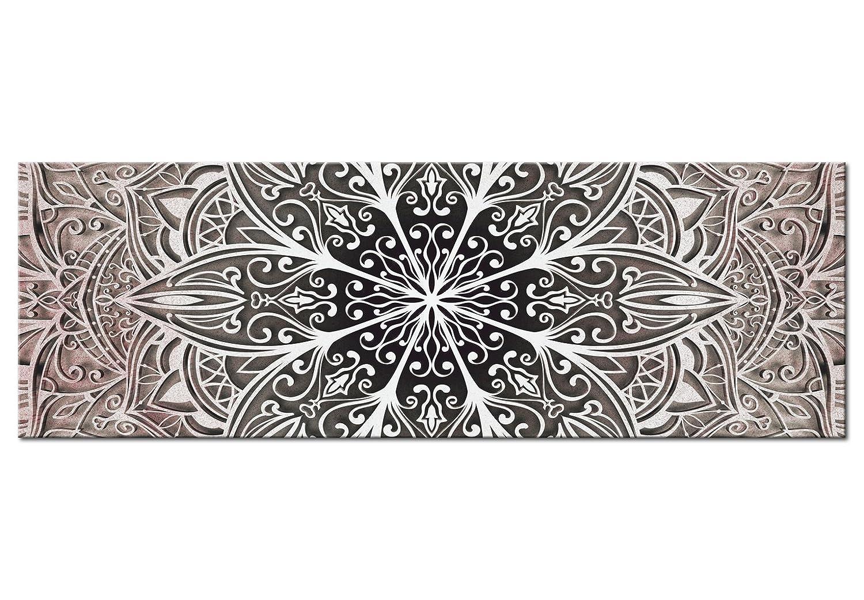 murando Cuadro en Lienzo Mandala 120x40 cm 1 Parte impresi/ón en Material Tejido no Tejido Cuadro de Pared impresi/ón art/ística fotograf/ía Imagen gr/áfica decoraci/ón f-A-0672-b-b
