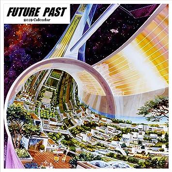Retrospect Group Vintage Future 2019 Square Calendar (YS 1067)