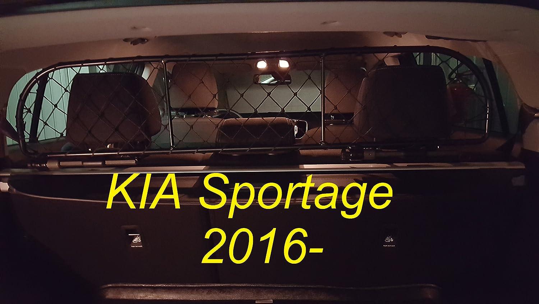 Divisorio Griglia Rete Divisoria Ergotech RDA65-XS16, per trasporto cani e bagagli. Sicuro, confortevole, garantito! Ergotech S.r.l.