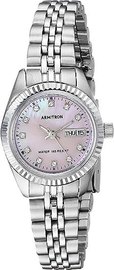 Armitron Women's Swarovski Crystal Accented Bracelet Watch