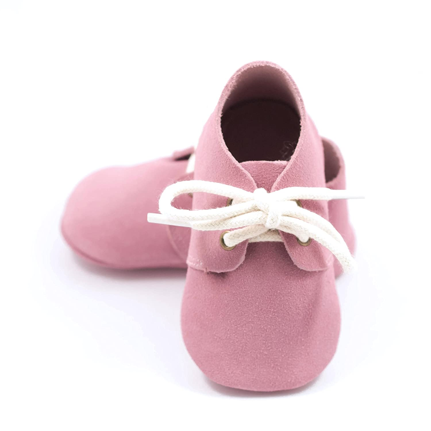 Soft Sole Leather Moccasins Babies Toddlers Elk Kids Oxford boy Girl Baby Shoes