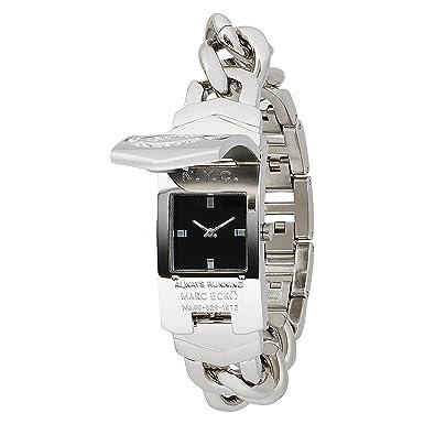 Marc Ecko Midsize E95002M1 Silver ID Bracelet Style Watch
