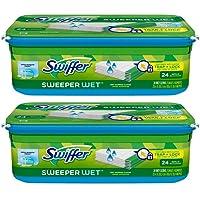 Swiffer Sweeper Wet Mopping Cloth Refill - Open Window Fresh - 24 wet cloths - 2 pk