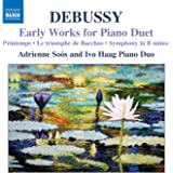 Oeuvres De Jeunesse Pour Piano A 4 Mains
