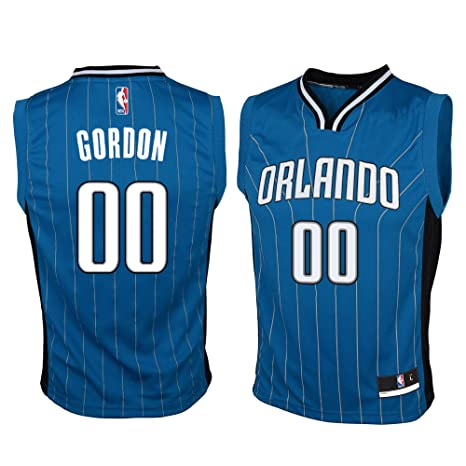 f1015667388 Outerstuff Aaron Gordon Orlando Magic #00 Blue Youth Road Replica Jersey  X-Large 18