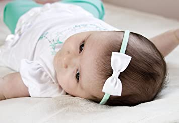 Image Unavailable. Image not available for. Colour  Baby Bow Headband 74974d80fad