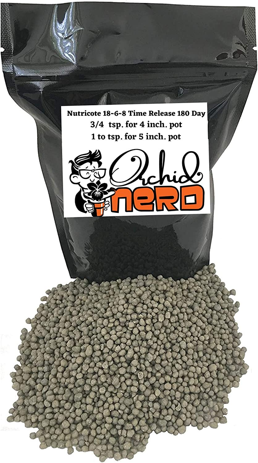 Nutricote Orchid Food by Orchid Nerd, 15-Ounce (Orchid Ferlizer) 18-6-8 Slow Time Release