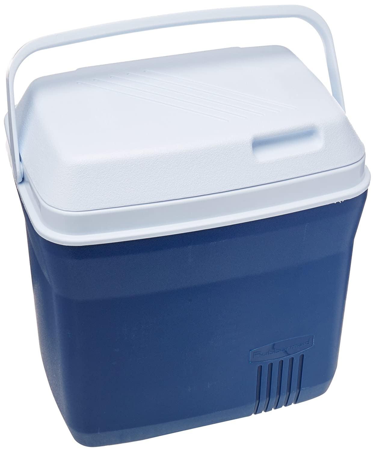 Rubbermaid Cooler, 20 Quart, Blue FG2A2704MODBL