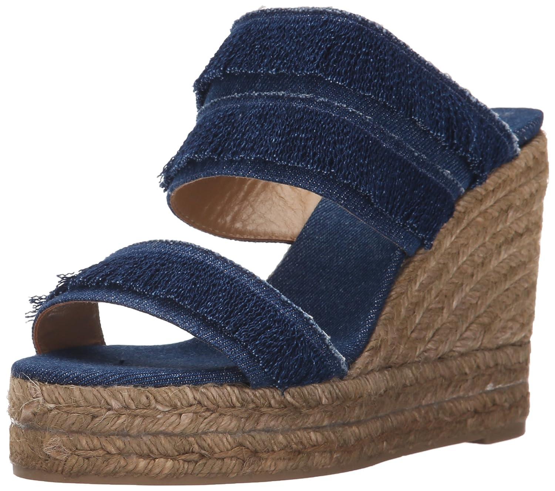 Castaner Women's Basha Platform Sandal B01CE1V42U 36 EU/6 D US|Jeans Marino