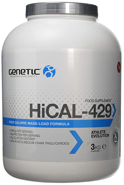 Genetic HiCal-429 Strawberry Coco (3kg) - All Natural Muscle