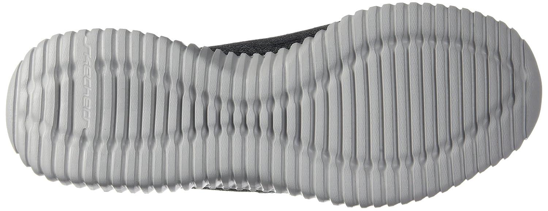 Skechers Elite Flex - Hartnell schwarz grau grau grau Mens Turnschuhe Größe 11W 9569b9