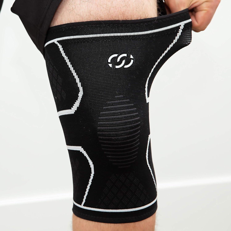 artrite giovane corsa donna stabilizzatore di palla Compressions Manicotto di supporto al ginocchio per uomo lacrima del menisco sollevamento pesi e sport