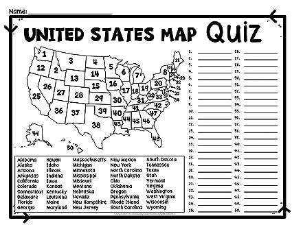 Amazon.com: Home Comforts Laminated Map - Map USA Test Major Tourist ...
