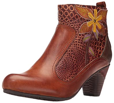 L'Artiste by Spring Step Women's Dramatic Boot, Camel Multi, 35 EU/
