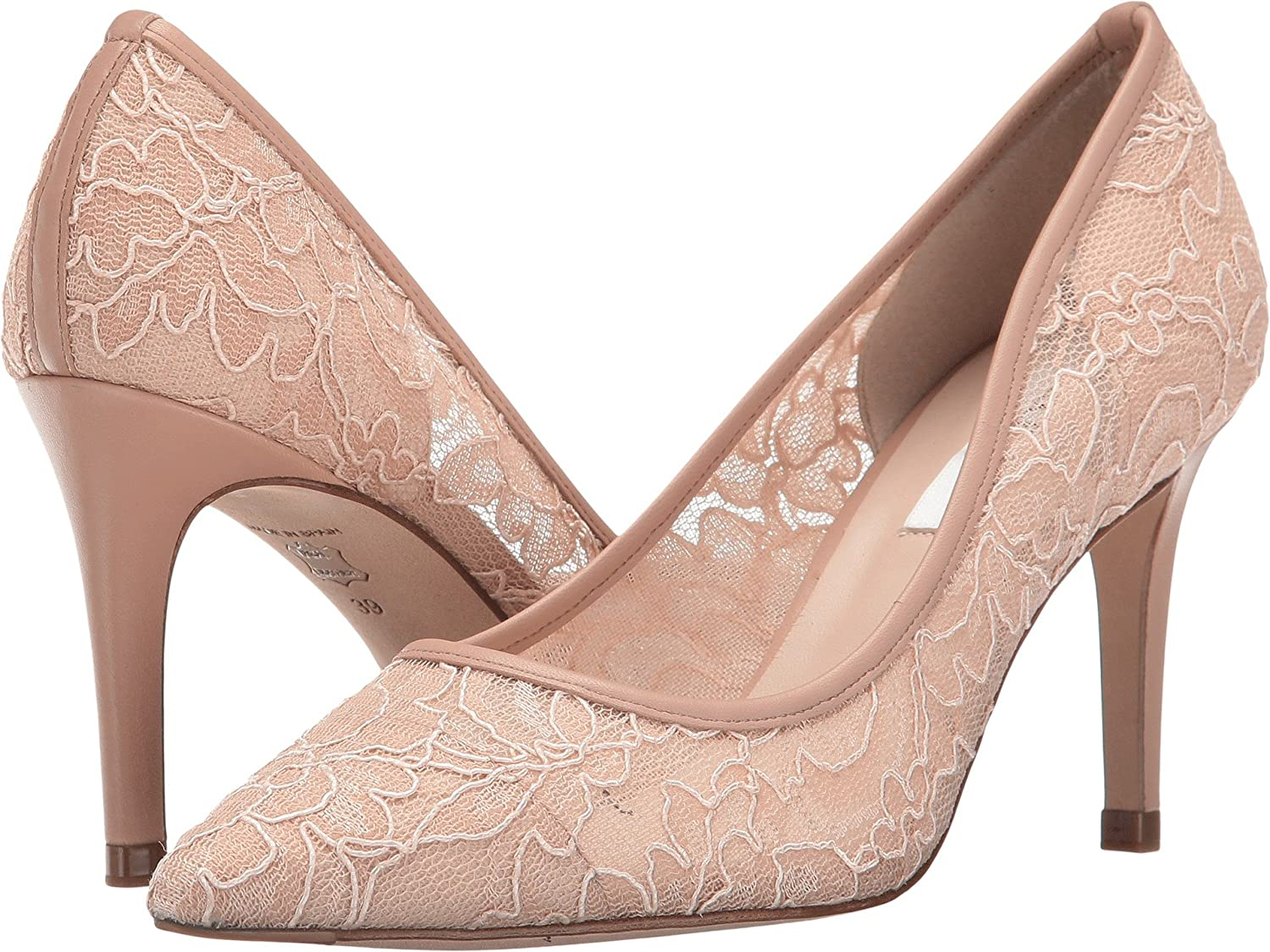 Marshmallow Lace Nappa L.K. Bennett Women's Floret Dress Pump