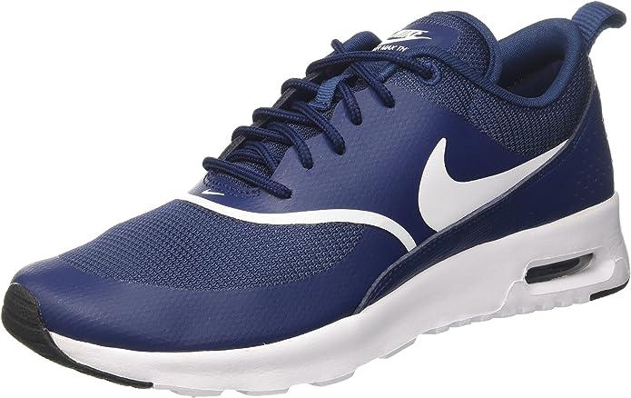 Nike Air Max Thea Sneakers Damen Blau mit weißen Streifen