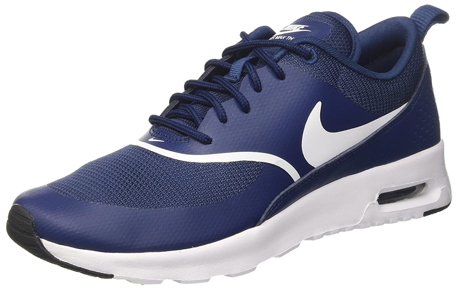 Nike Damen Air Max Thea Gymnastikschuhe Mehrfarbig (Navy / White Black 419)