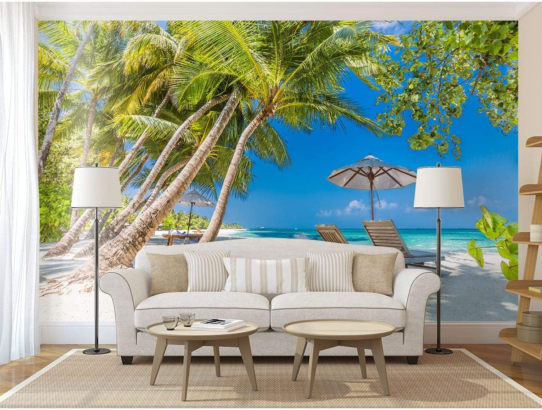 Startonight Mural Wall Art Beach Holiday Wallpaper Elegant - Photo 67% OFF of fixed price