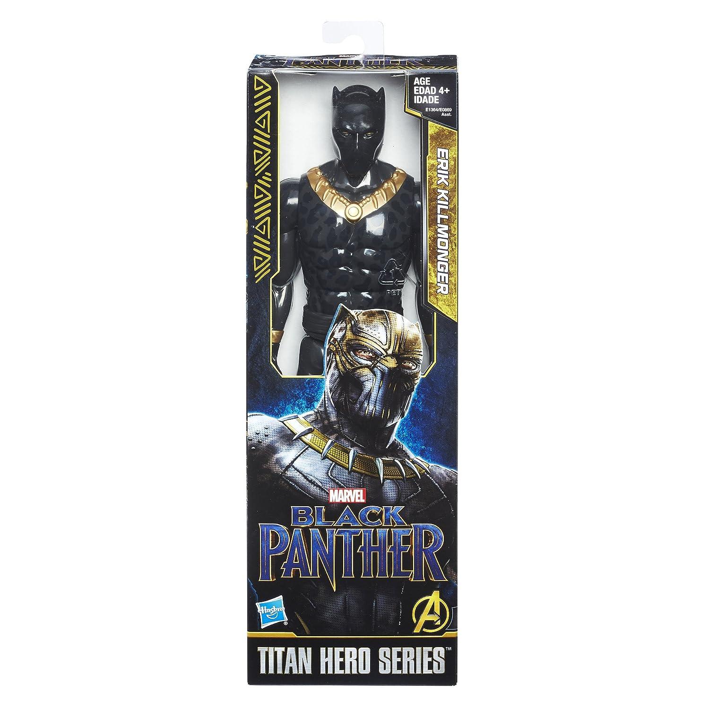 Marvel 33153 Black Panther Killmonger w//Scars POP Bobble Mehrfarbig Standard