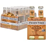 Fever-Tree Premium Ginger Ale, No Artificial Sweeteners, Flavourings or Preservatives, 6.8 Fl Oz (Pack of 24)