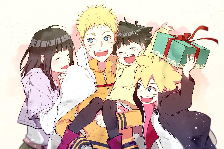 Athah Designs Anime Boruto Boruto Uzumaki Naruto Uzumaki Himawari Uzumaki Hinata Hy Ga 13 19 Inches Wall Poster Matte Finish Amazon In Home Kitchen