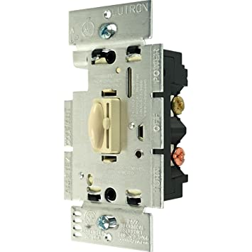 Lutron QPIV W Way Qoto Dimmer And Switch Ivory Wall - What is 3 way dimmer switch
