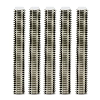 WheateFull 5 piezas de barril de acero inoxidable M6x40MM Garganta ...