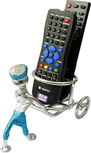 ORCHID ENGINEERS Metal Unique Remote Stand (Antique Silver)
