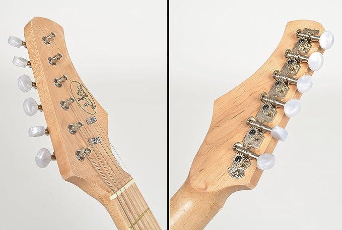 ts-ideen Guitarra Eléctrica con Amplificador Funda y Correo 4 - 8 Años: Amazon.es: Instrumentos musicales