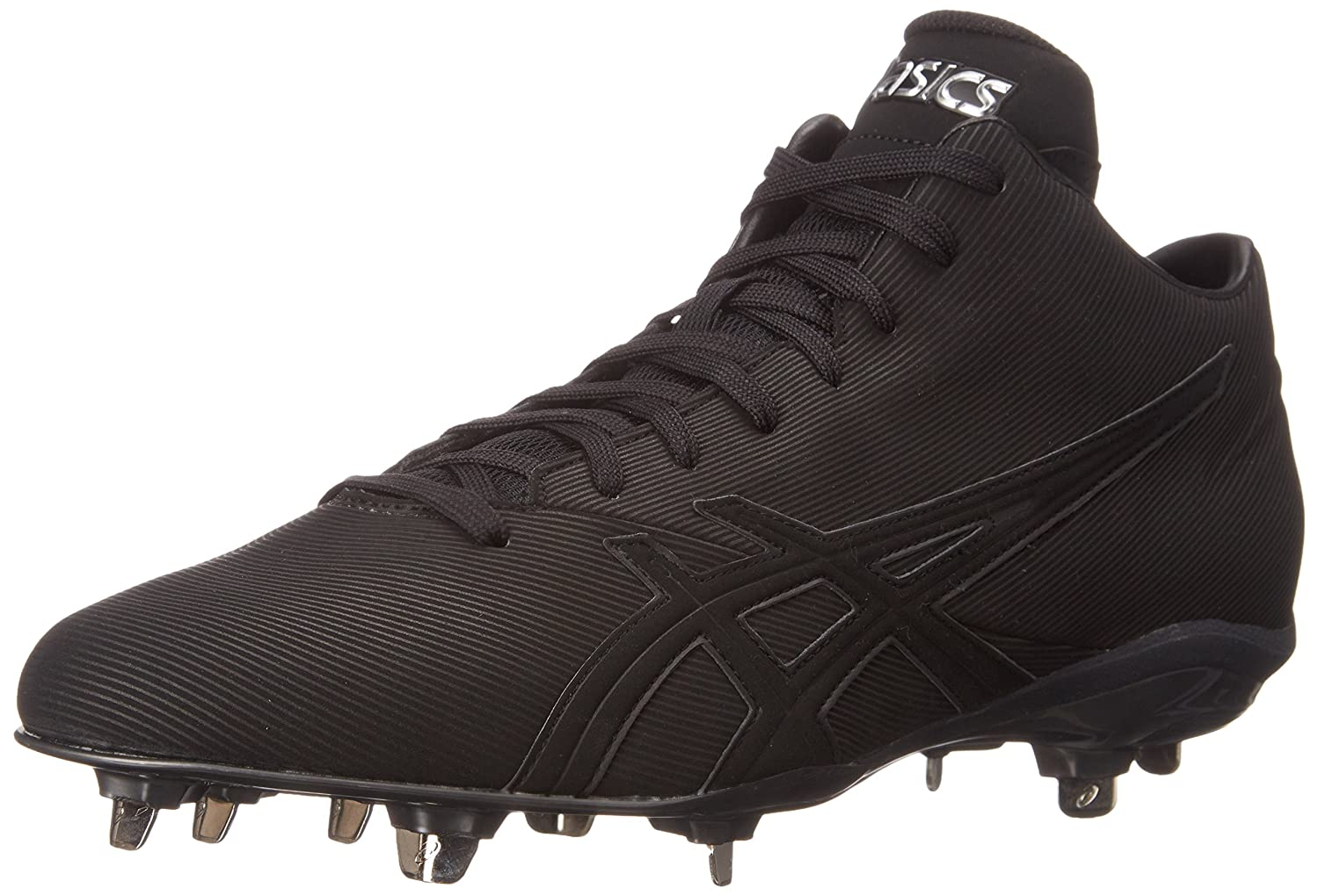 ASICS Men's Crossvictor QT Baseball Shoe B00Z9ZYG4C 7 D(M) US|Black/Black