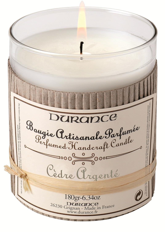 Vela Perfumada Artesanal Arom/áticade Cedro Plateado Durance En Provence