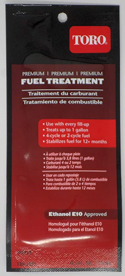 Amazon.com: Toro 130-2393 Tratamiento de combustible de alta ...