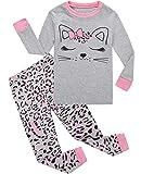 Dolphin&Fish Girls Pajamas Cat Little Kids Pjs