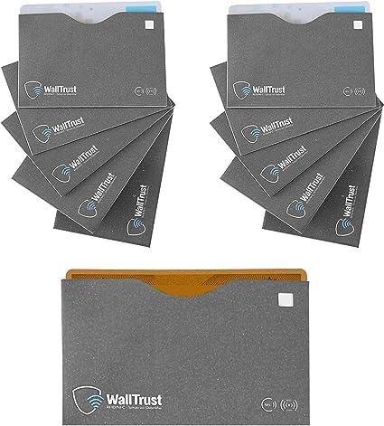 3er Set Housse de protection RFID Carte de Crédit Carte De Débit Housse carte d/'identité cartes housse