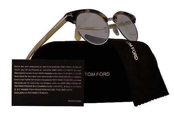 9de44d72f9 Tom Ford FT5343 Eyeglasses 49-19-145 Dark Havana 052 TF5343  Amazon.co.uk   Clothing