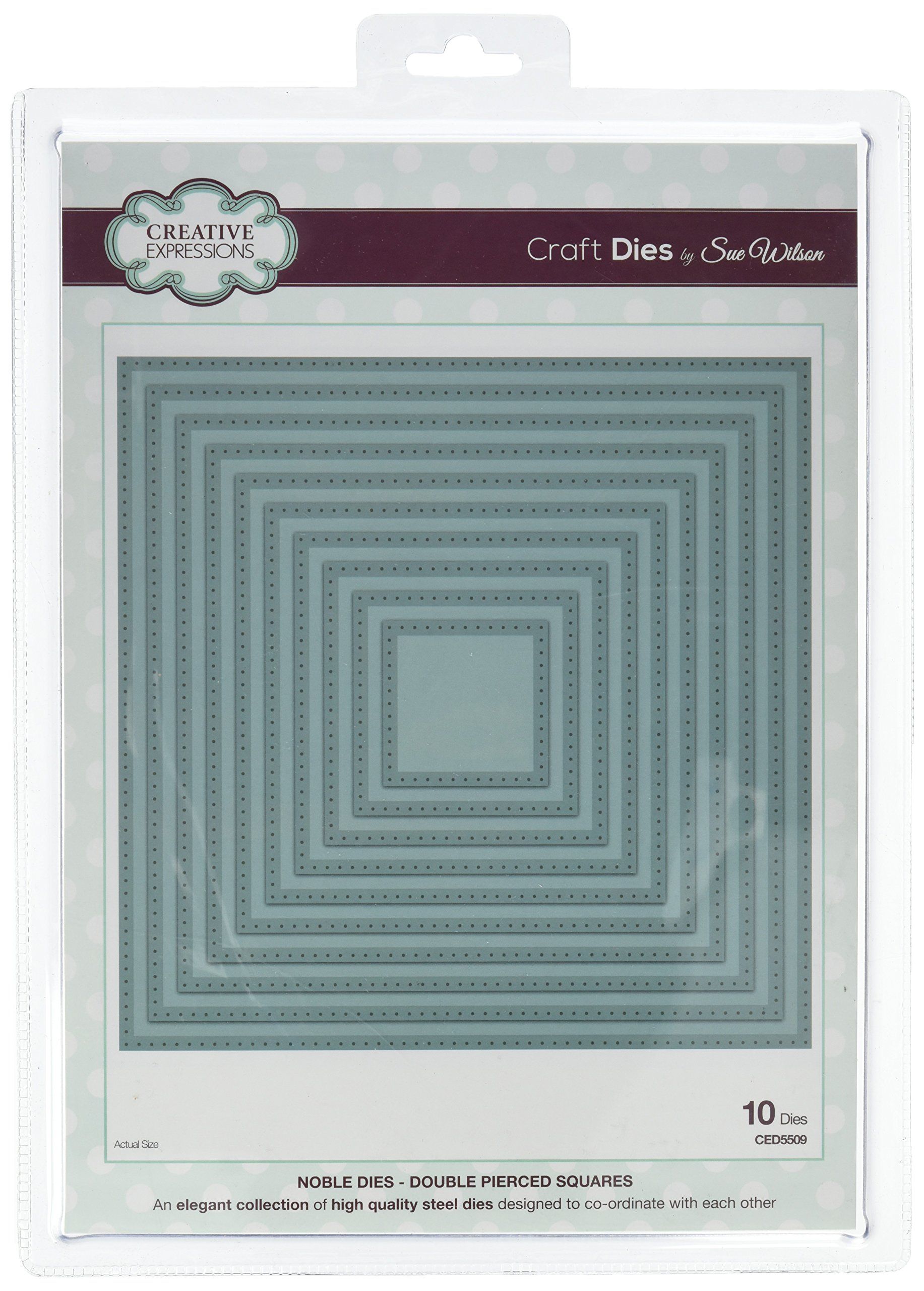 Noble Collection Double Pierced Square