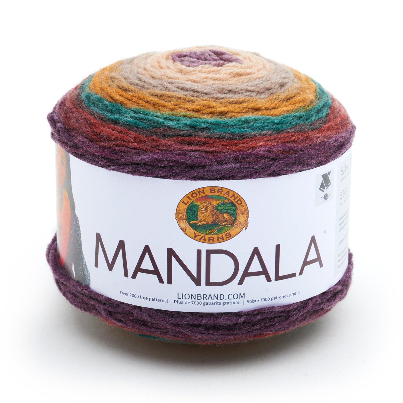 Amazon Lion Brand Yarn 525 215 Mandala Yarn Warlock Arts